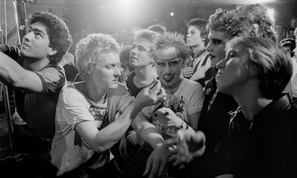 Punk al Vortex Club, anni '70