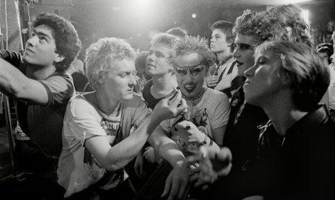 Punk al Vortex Club, anni '70