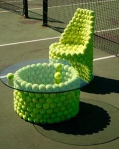 Salottino da tennis