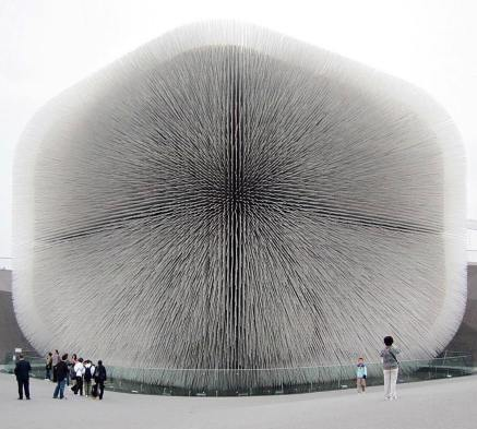 The Seed Cathedral dell'architetto Thomas Heatherwick per Shanghai Expo, 2010