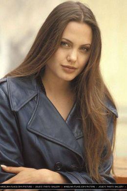 Angelina Jolie by Michel Bourquard, 1994