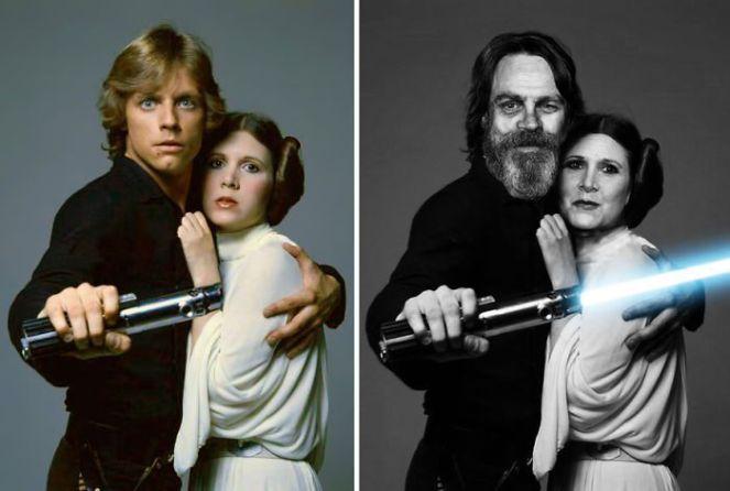 Attori di Star Wars allora e adesso