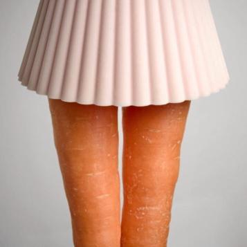 Ballerina gambe carota