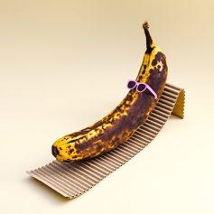 Banana al sole