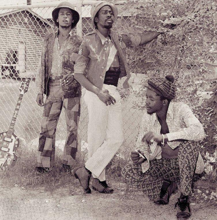 Bob Marley, Bunny Wailer, Peter Tosh