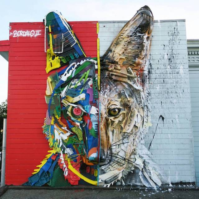 Bordalo II @San Francisco, USA