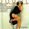 Copertina della rivista francese Lui, 1977