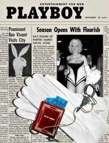 Copertina della rivista Playboy, 1955