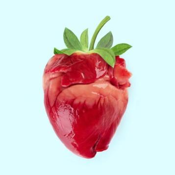 Cuore fragola