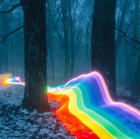 Rainbow Road by Daniel Mercadante