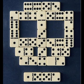 Domino teschio
