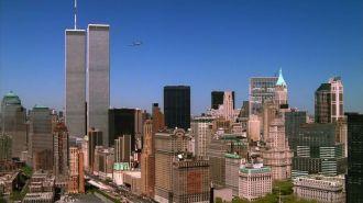 Foto scattata poco prima dell'attentato dell'11 settembre 2001