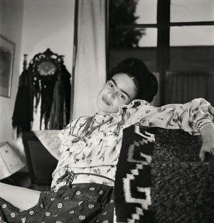 Frida Kahlo durante gli ultimi anni della sua vita