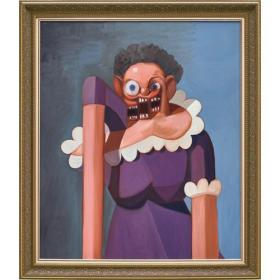 GEORGE CONDO - French Maid Variation