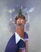 GEORGE CONDO LITTLE RICKY, 2004
