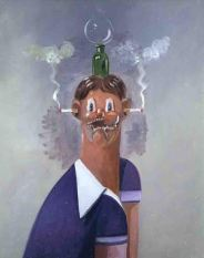 GEORGE CONDO LITTLE RICKY, 2004