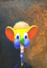 George Condo. Multi-colored Pod, 1996
