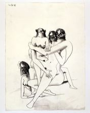 GEORGE CONDO ORGY COMPOSITION, 2003