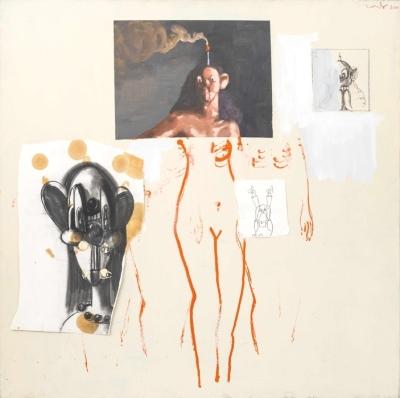George Condo. Pod Collage, 2000