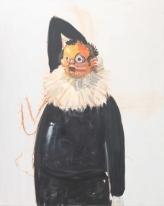 George Condo. Study for a Clown, 2009