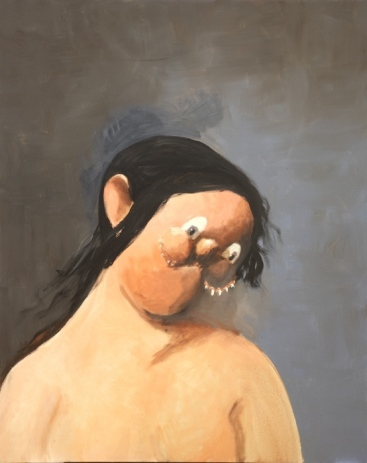 George Condo. The Chinese Woman, 2001