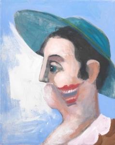 George Condo. Windswept Figure, 2007