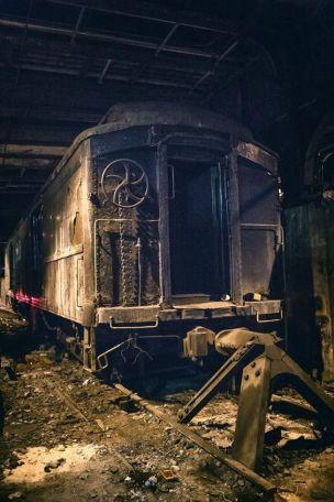 Grand Central Station abbandonata, New York City