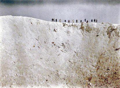 Immagine autocromatica della prima guerra mondiale