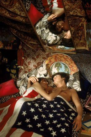 La fioritura del movimento Hippie