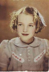 Marilyn Monroe nel 1933 (7 anni)