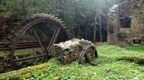 Mulino a pale abbandonato, Francia