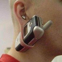 Orecchio porta telefono