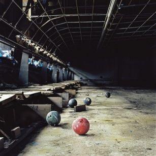 Sala da Bowling abbandonata