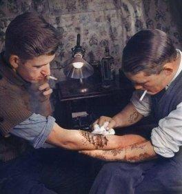 Tatuatore del 1920