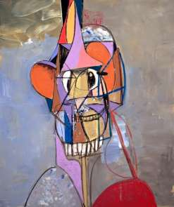 The Laughing Cavalier, 2013, by George Condo