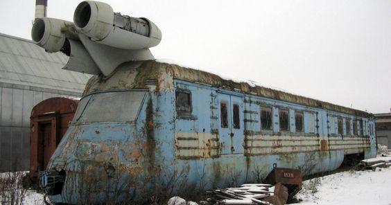 Treno a Reazione Sovietico