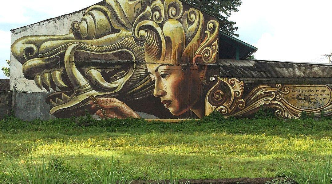 WD Drawing @Denpasar, Bali, Indonesia