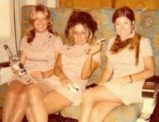 Assistenti di volo degli anni 1960-70