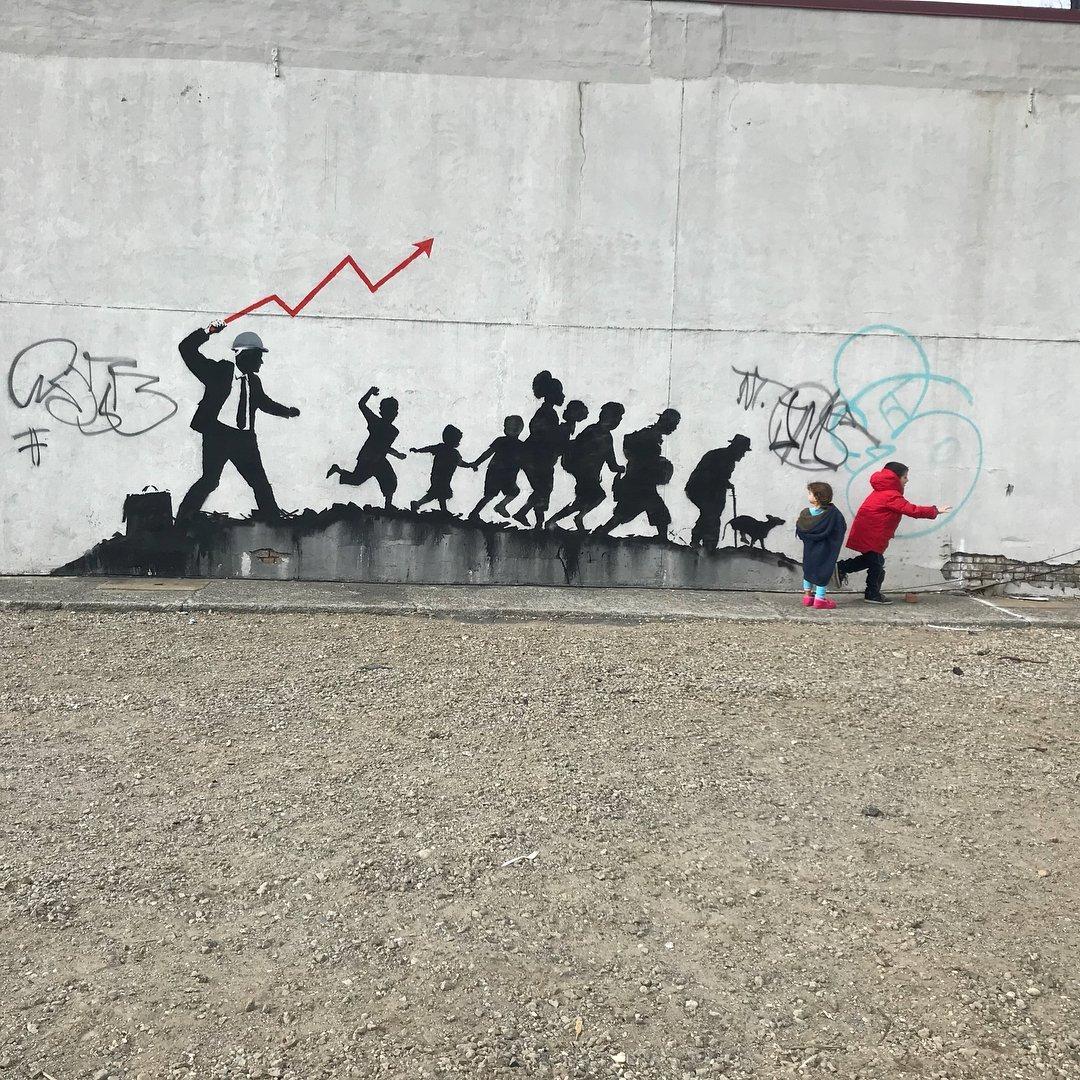 Banksy @New York, USA
