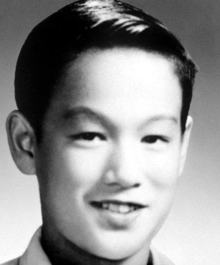 Bruce Lee all'età di 3 anni (1943)