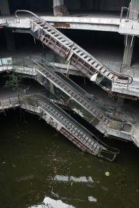 Centro commerciale abbandonato a Bangkok