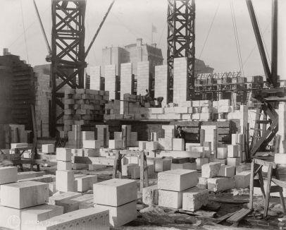 Costruzione di grattacieli a New York City