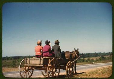 Fotografie a colori della vita quotidiana negli Stati Uniti durante la seconda guerra mondiale
