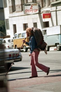 Hippie Street Life, San Francisco 1971, by Nick DeWolf
