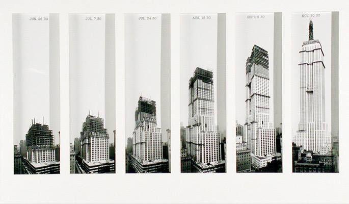 L'Empire State Building è stato costruito in soli 13 mesi, utilizzando un team di 3400 lavoratori