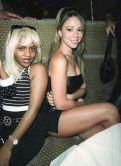 Lil Kim e Mariah Carey c. 1997
