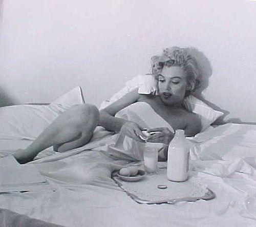 Marilyn a colazione
