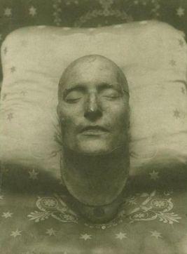 Maschera mortuaria di Napoleone, 1821