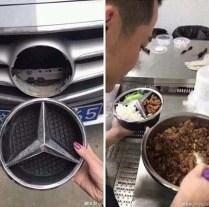 Mercedes ciotola cibo