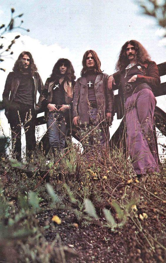 Ozzy Osbourne e i Black Sabbath negli anni '70